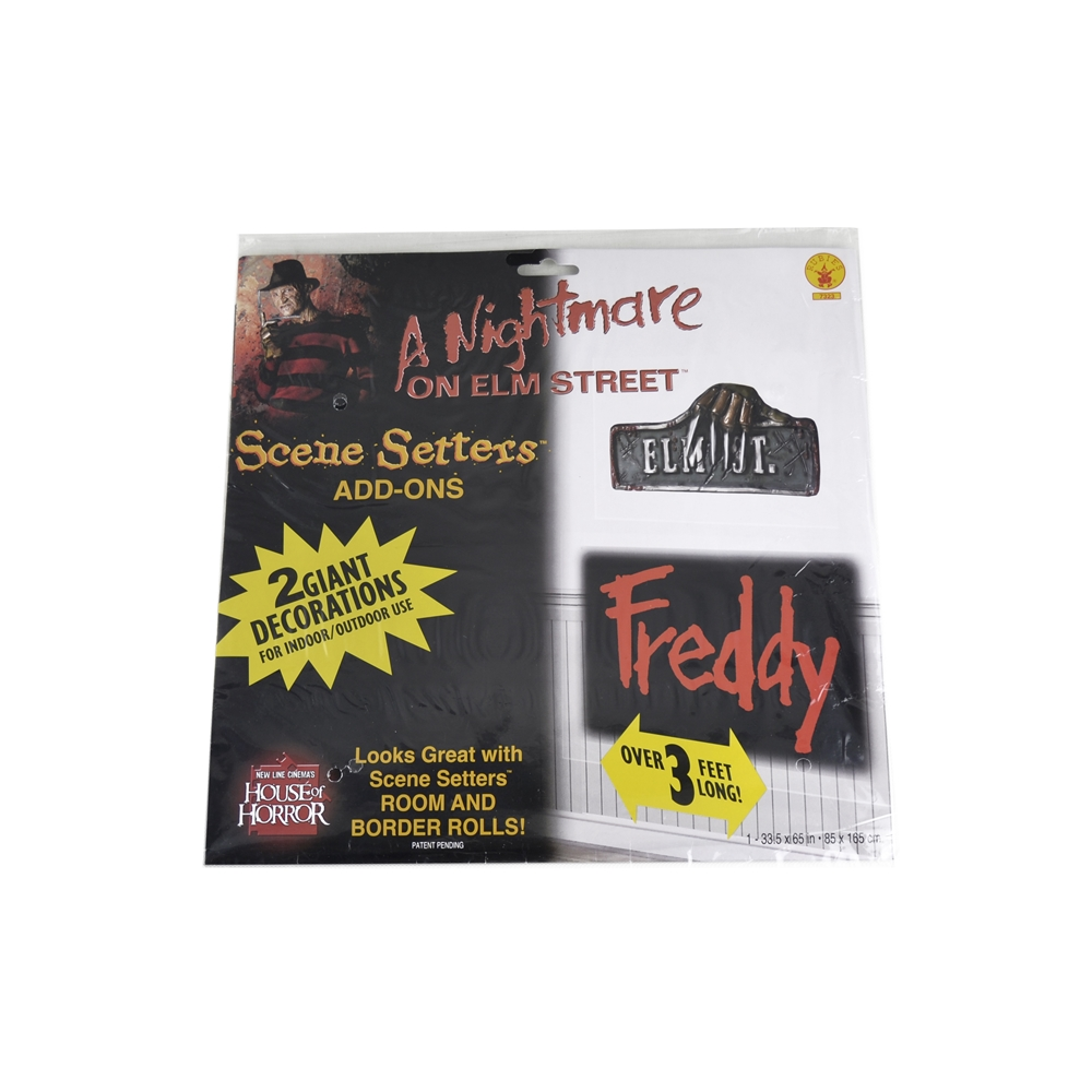 A Nightmare on Elm Street Freddy Add-On Signs 7323
