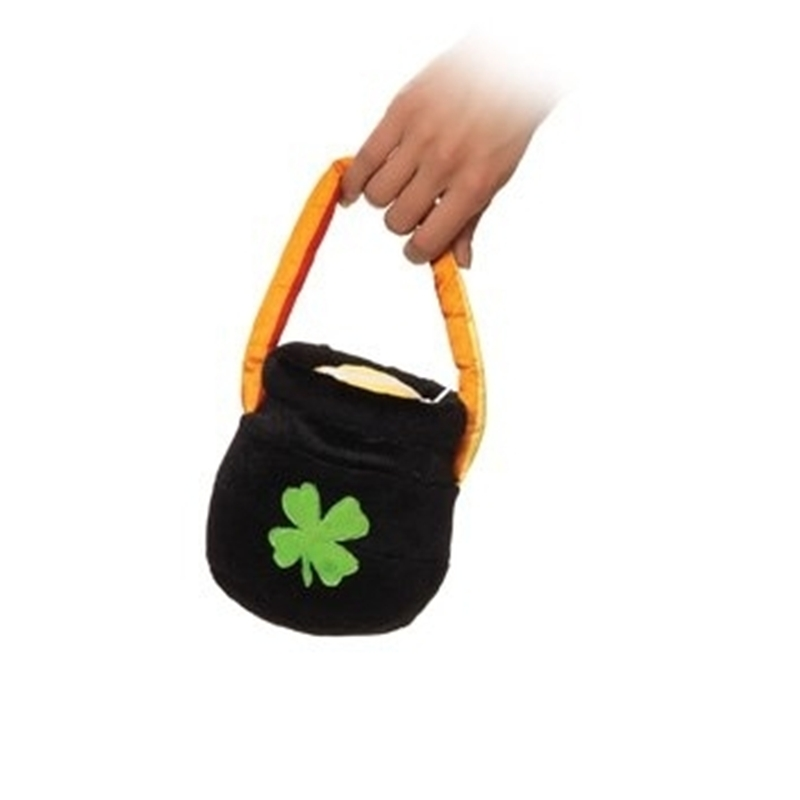 Plush Pot of Gold Purse