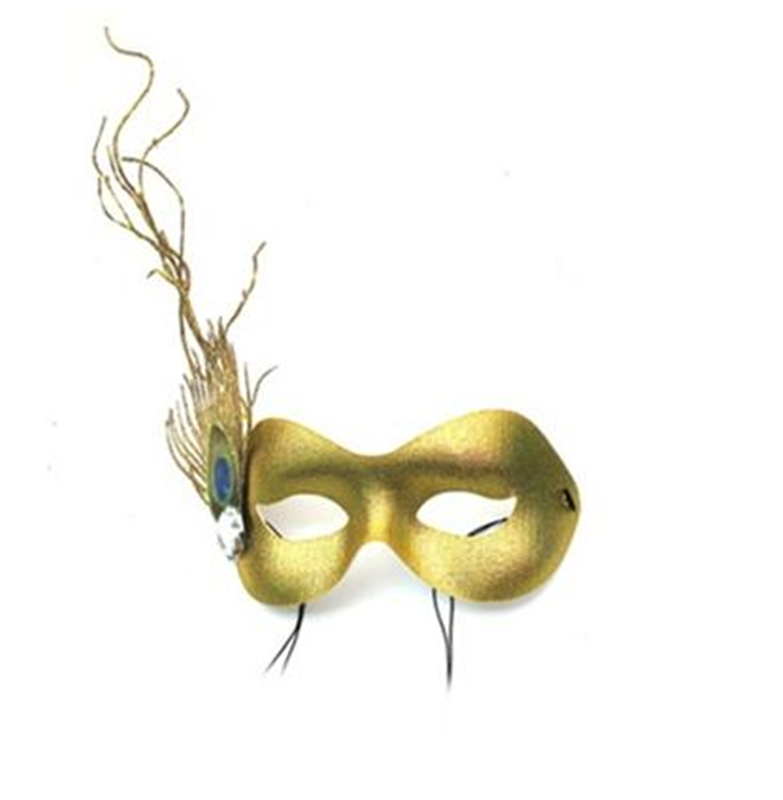 Sprite Gold Masquerade Adult Mask