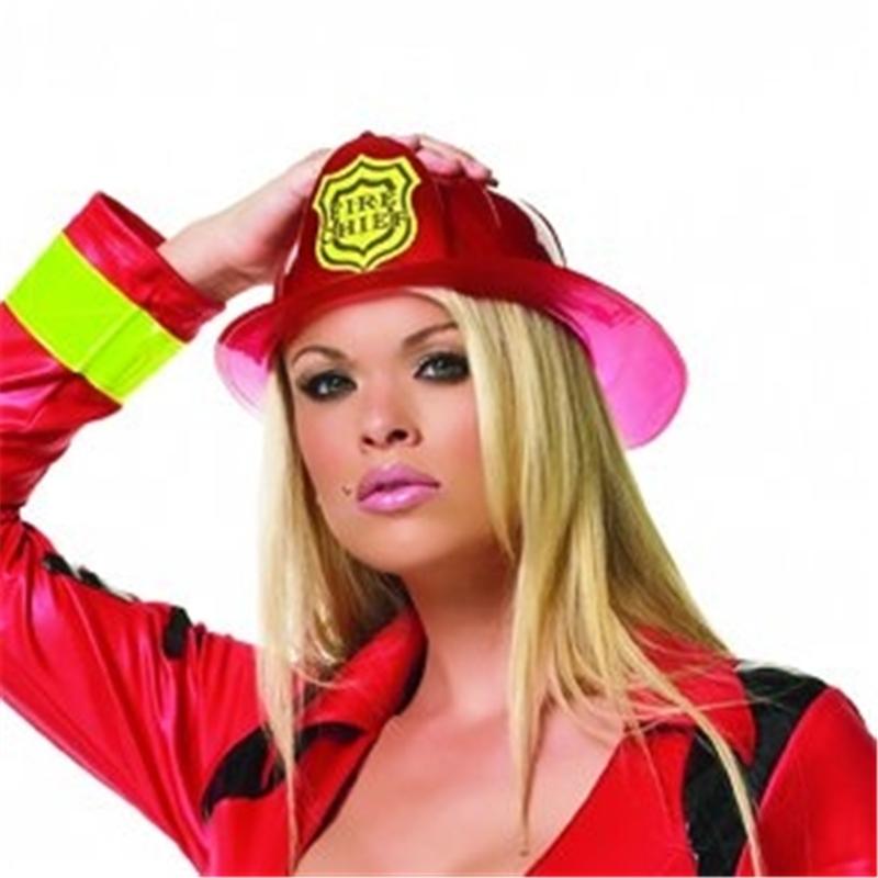 Fireman Hat Red