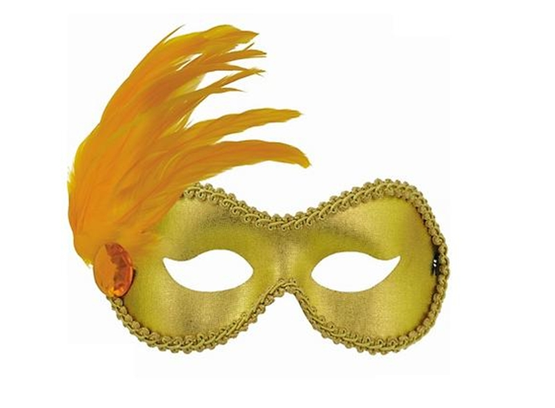 Gold Ballroom Adult Mask