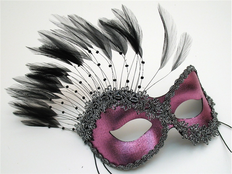 Persuasion Feather Adult Mask