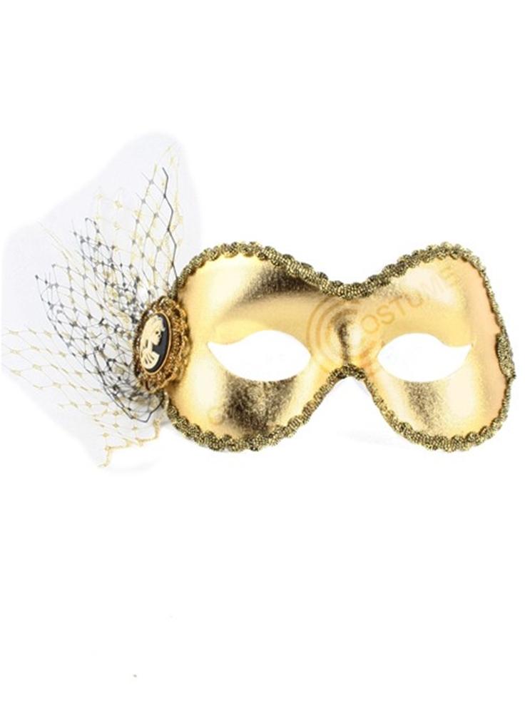 Ancestor Gold Adult Mask