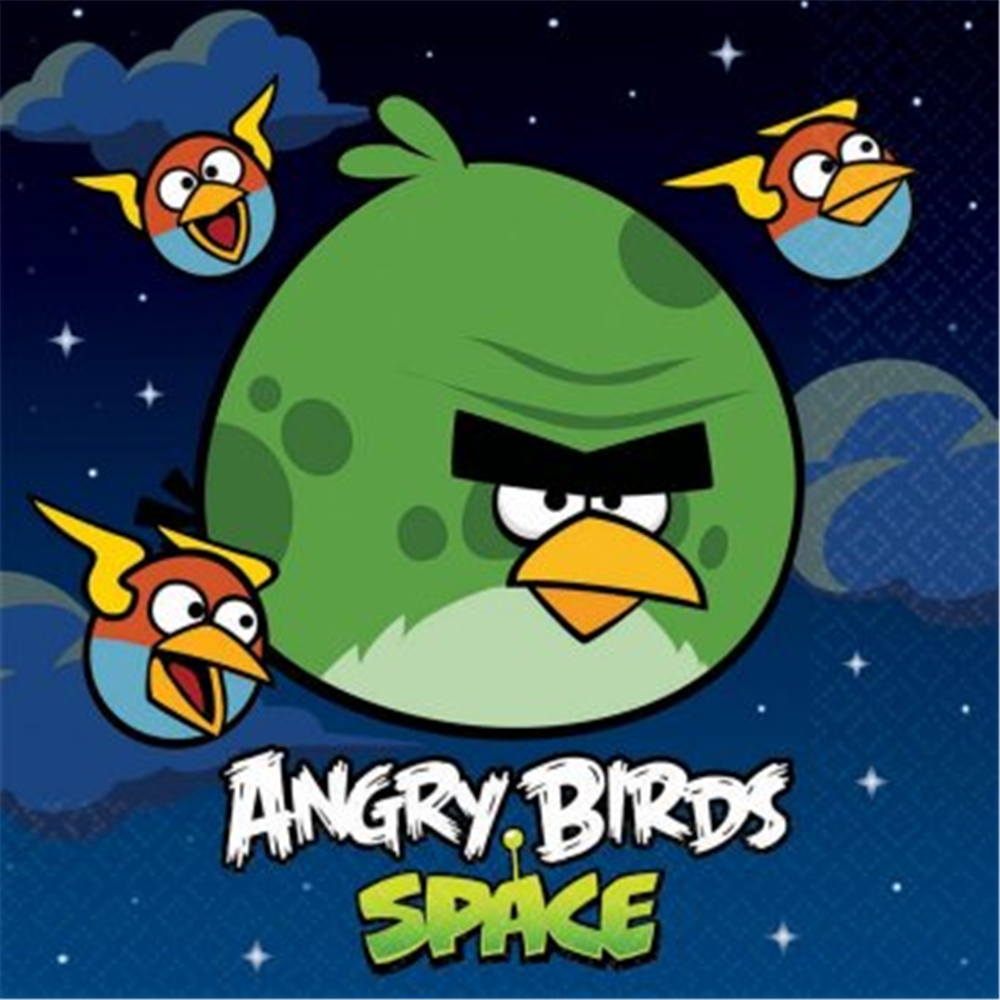 Image of Angry Birds Space Luncheon Napkins
