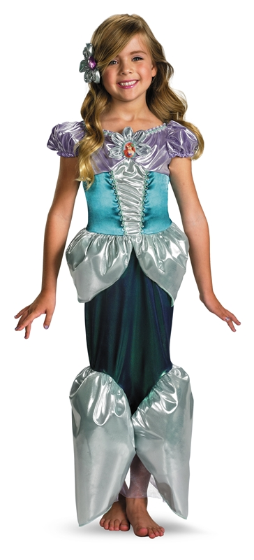 Deluxe Ariel Toddler & Child Costume