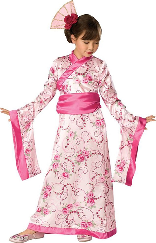 Asian Princess Toddler Girl Costume