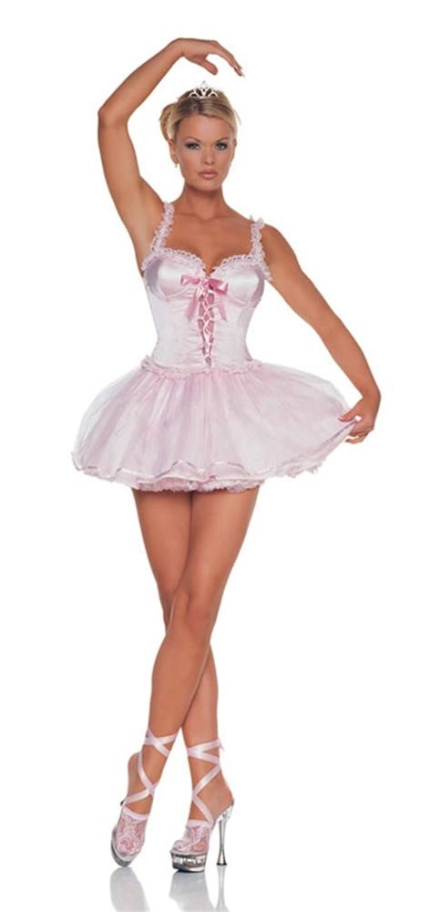 Ballerina Pink 2pc Costume