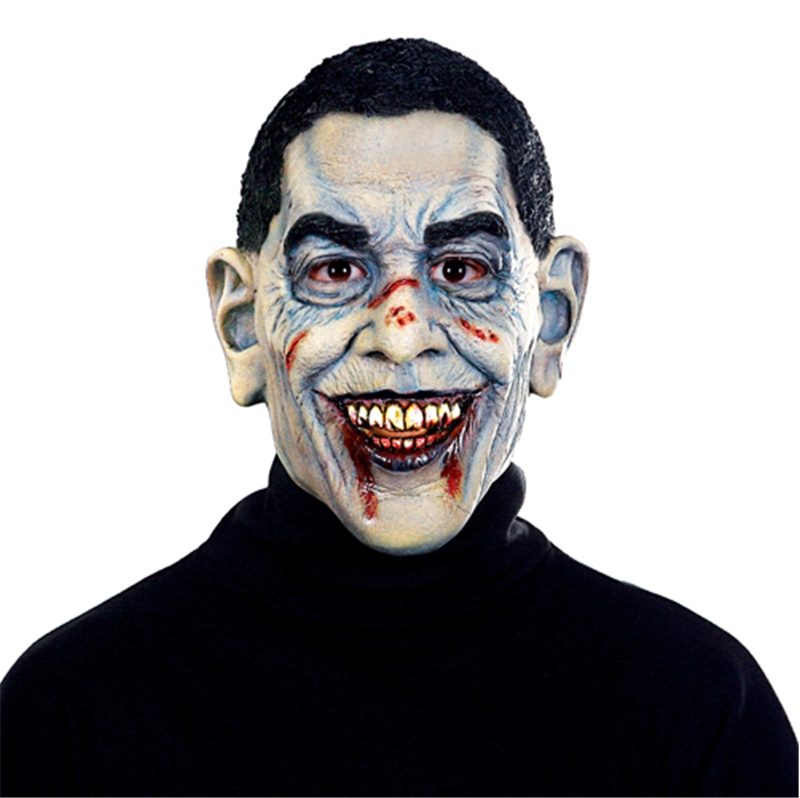 Image of Barack Obama Insane Zombie Mask