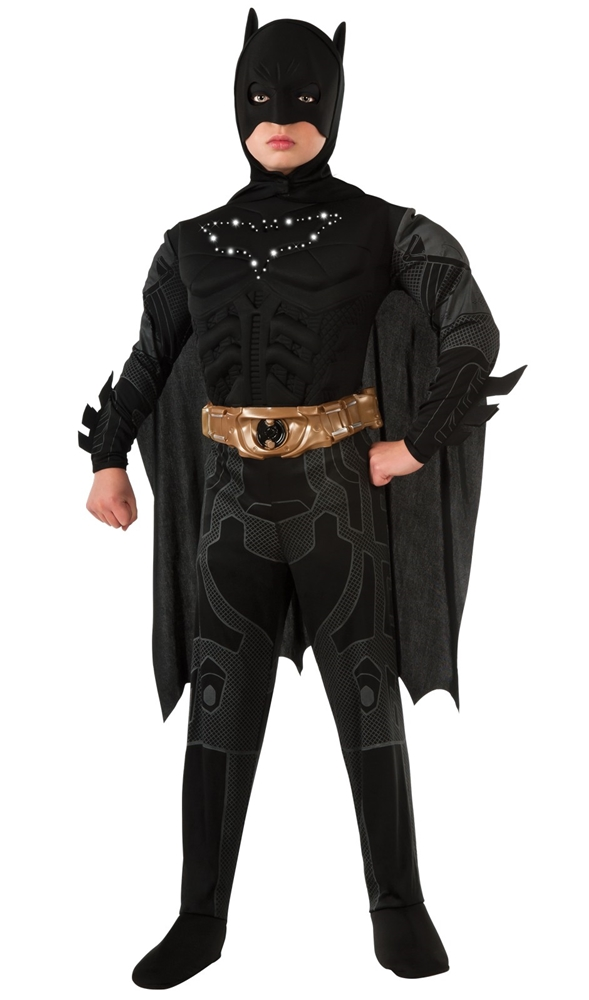 Batman Dark Knight Rises Light Up Child Costume