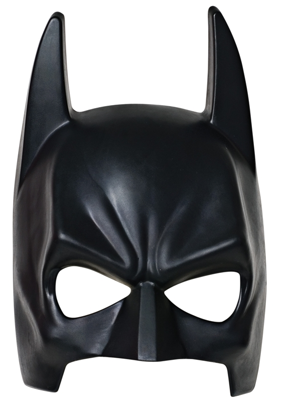 Batman Child Mask With Strap