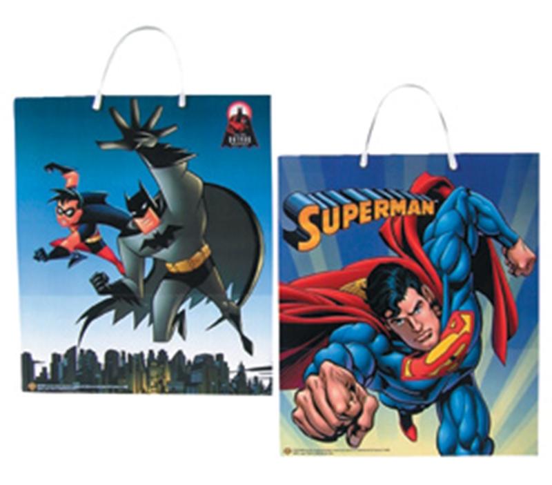 Batman Superman Trick Treat Bags