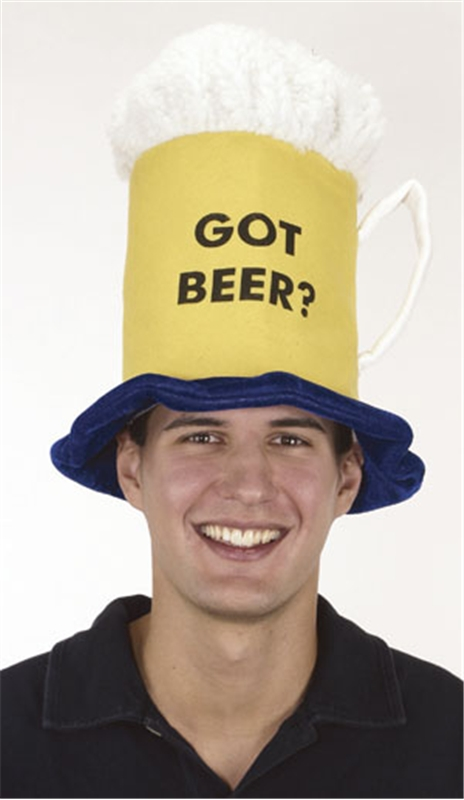 Beer Mug Adult Hat by Jacobson Hat Co