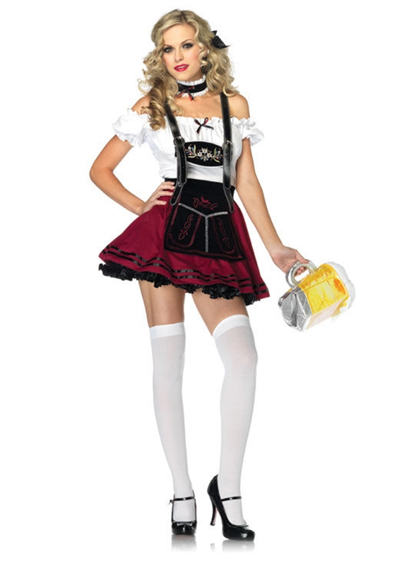 Beer Stein Beauty Adult Womens Costume by Leg Avenue