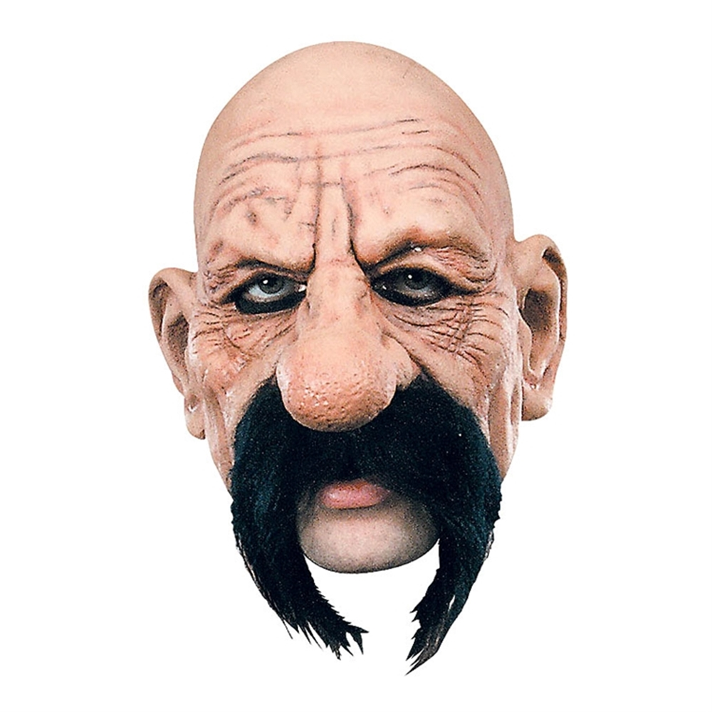 biker vito the wise guy adult mask funny halloween mobster