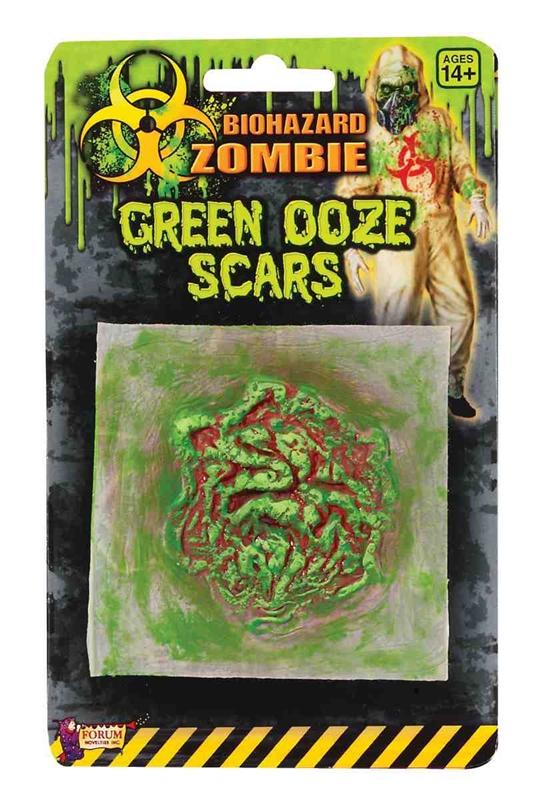 Biohazard Green Ooze Adult Scar