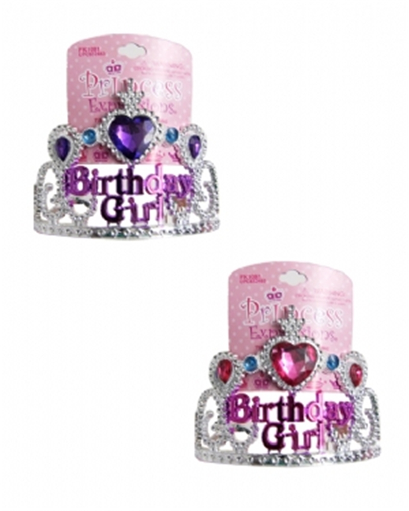Princess Birthday Girl Tiara