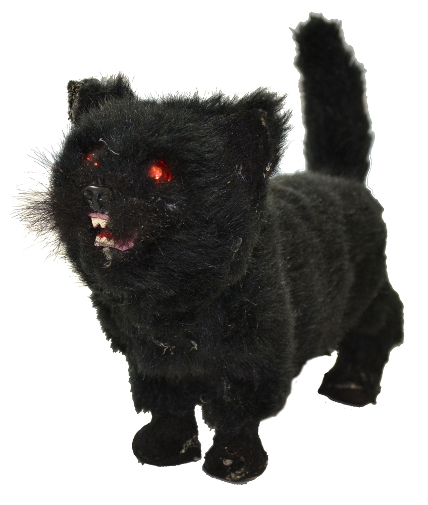 Black Cat Stand Up Prop