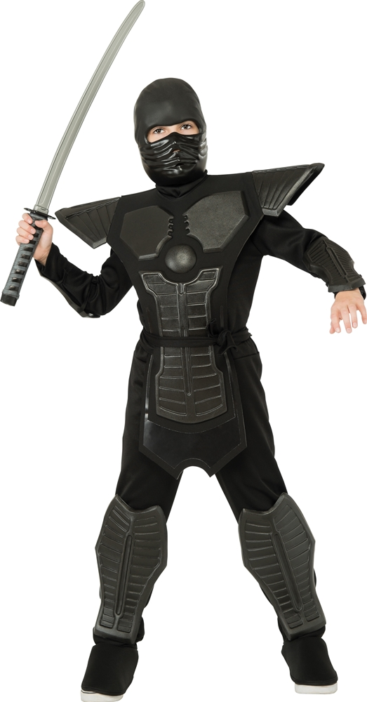 Black EVA Ninja Child Costume
