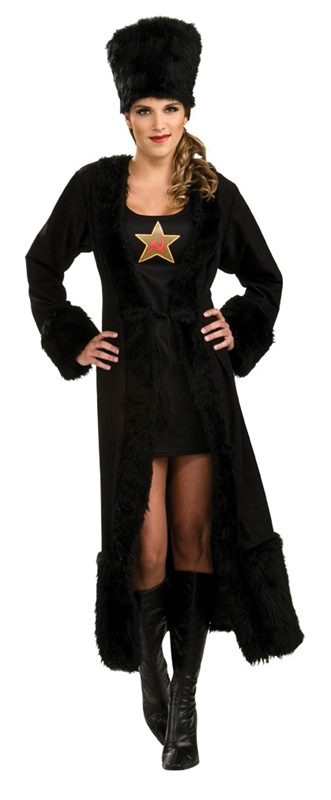Black Russian Adult Womens Costume