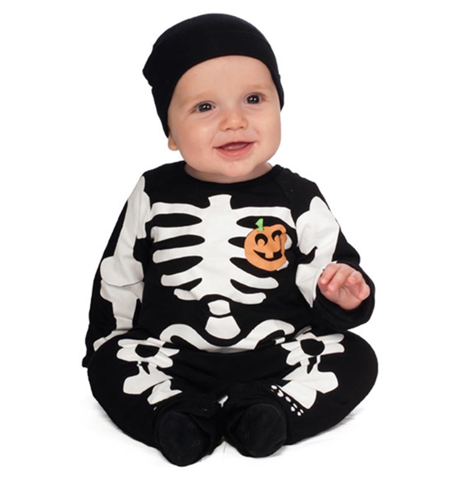 Купить Black Skeleton Infant Costume