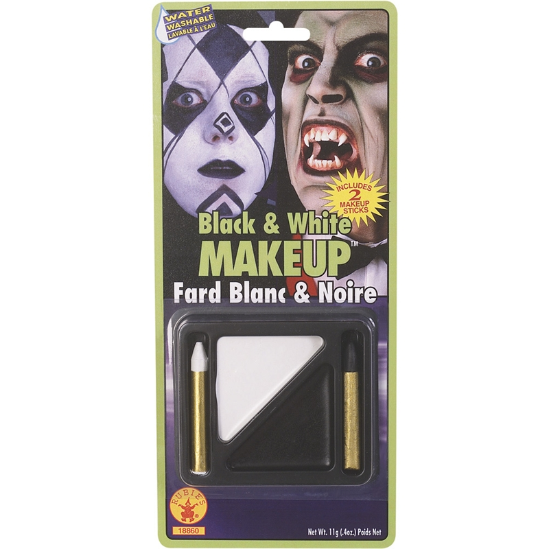 Black and White Makeup Kit by Rubies