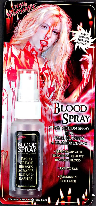 2oz Blood Spray Bottle