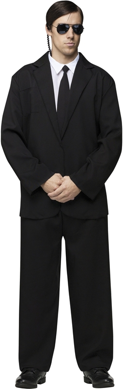 Black Suit Adult Mens Costume