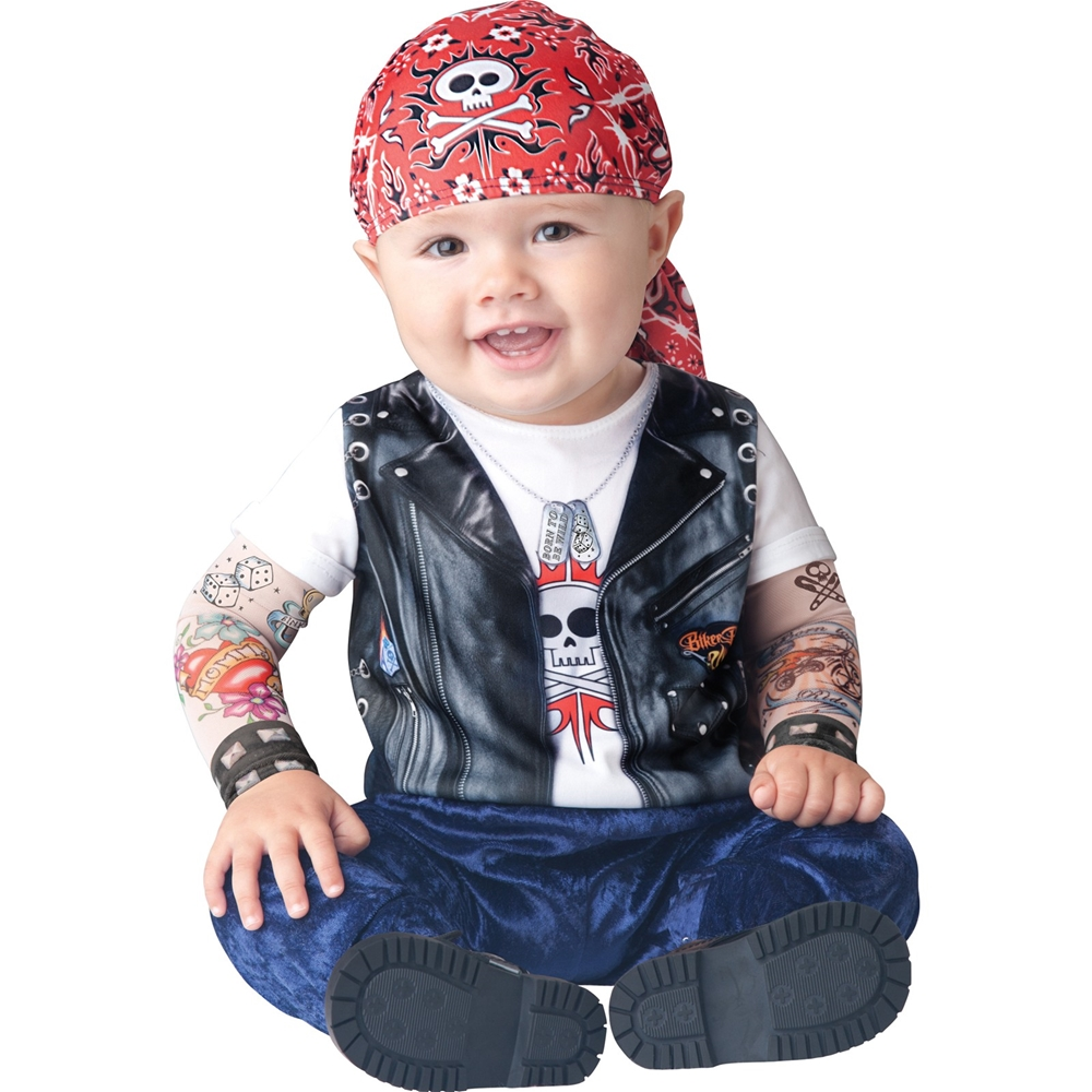 Born Wild Biker Toddler Costume