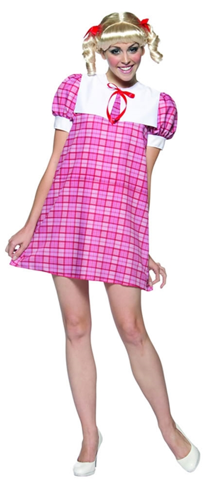 Brady Bunch Cindy Adult Womens Costume
