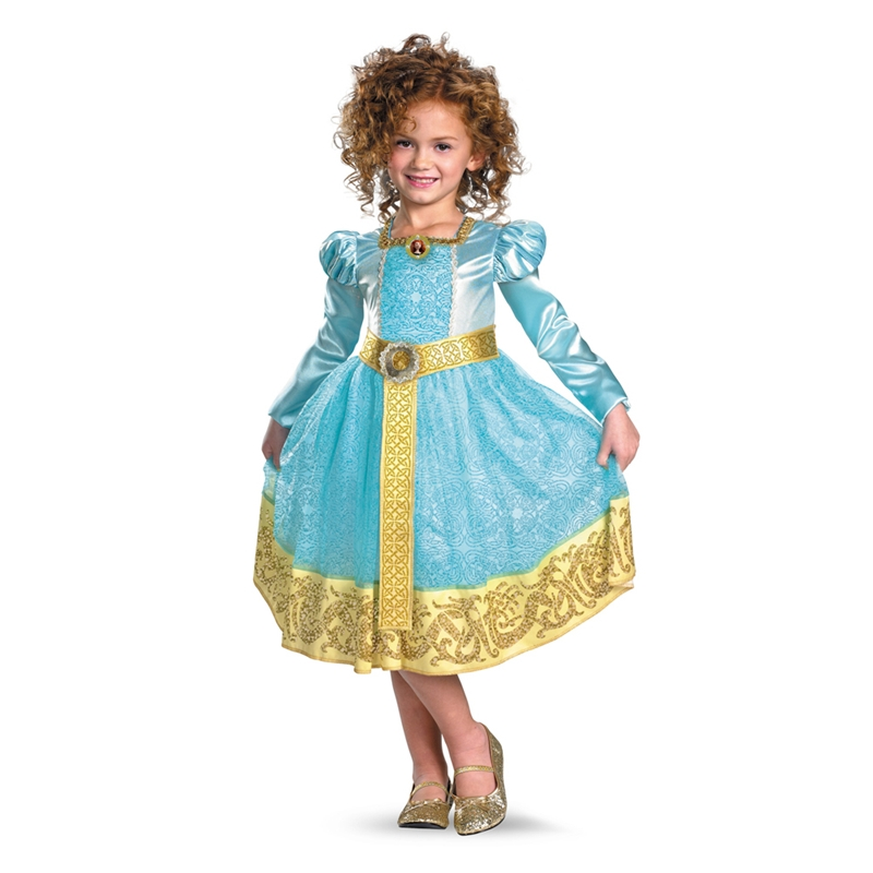 Disney Pixar Brave Merida Deluxe Toddler & Child Costume