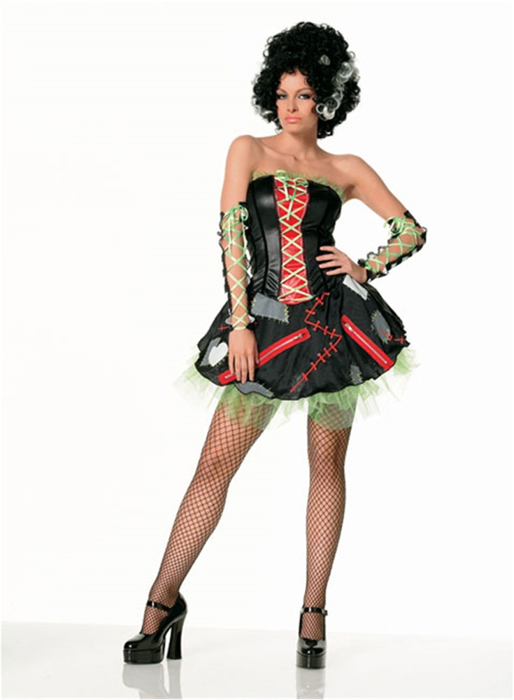 Bride of Frankenstein Monster 3pc Adult Costume