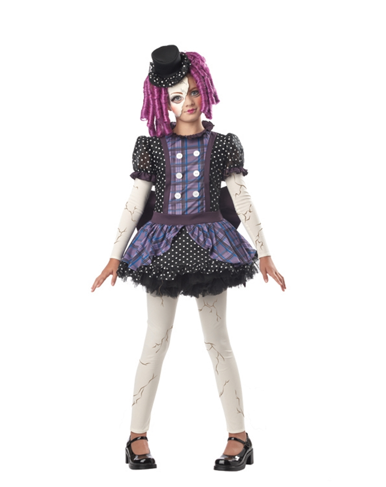 Broken Rag Doll Child Costume