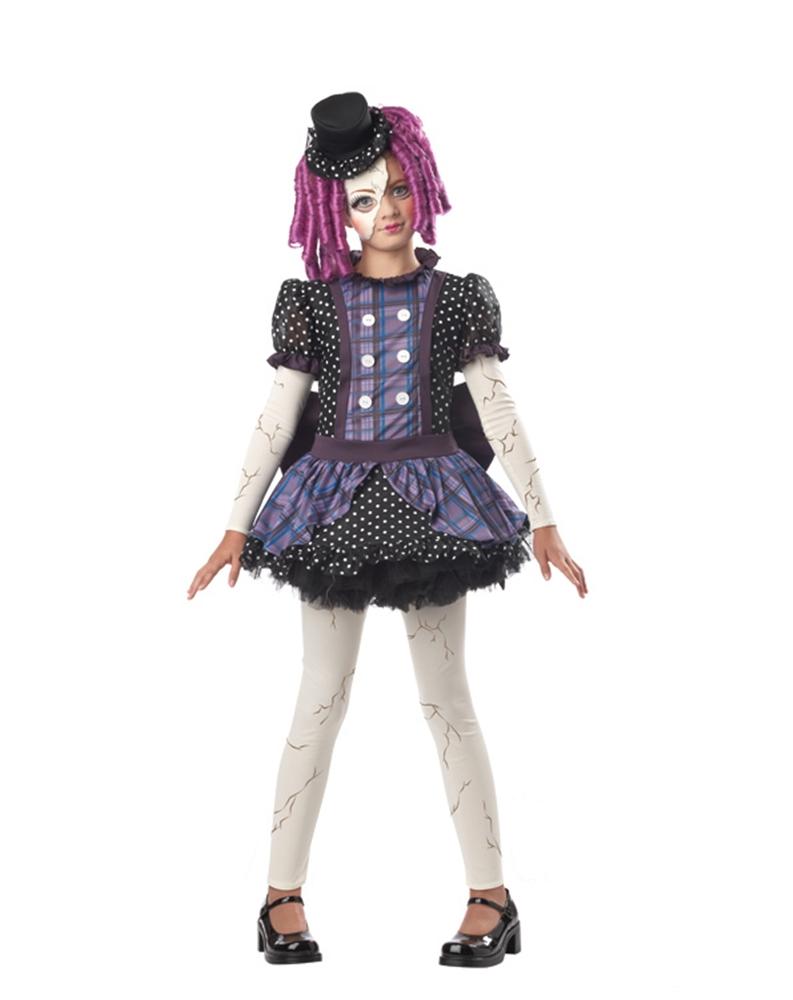 [Broken Rag Doll Child Costume] (Broken Rag Doll Costume)