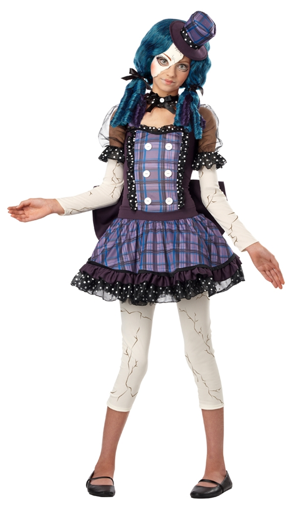 Broken Rag Doll Tween Costume