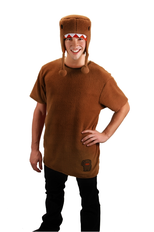 Brown Domo Adult Men Costume