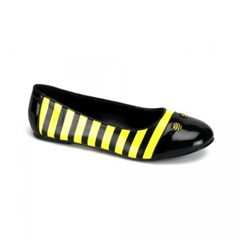 Bubble Bee Adult Flats
