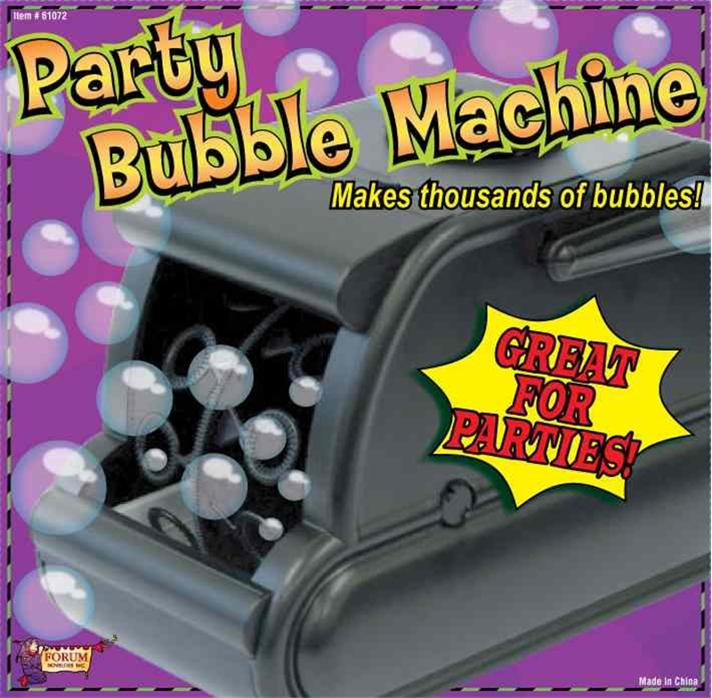 Image of Bubble Machine