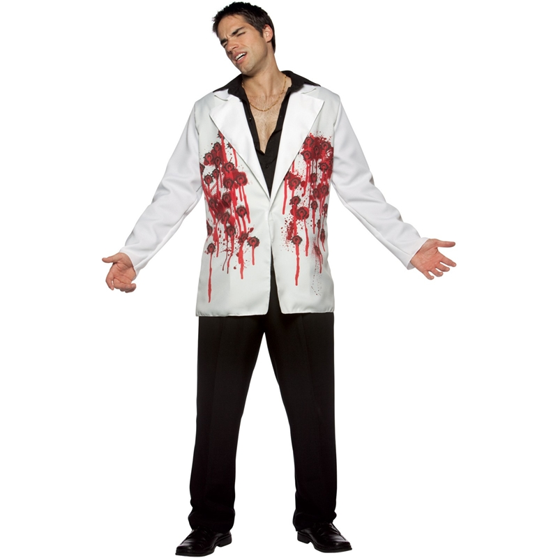 Bullet Hole Jacket Adult Costume