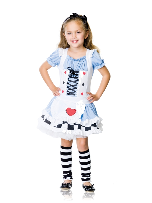 Miss Wonderland 2pc Child Costume