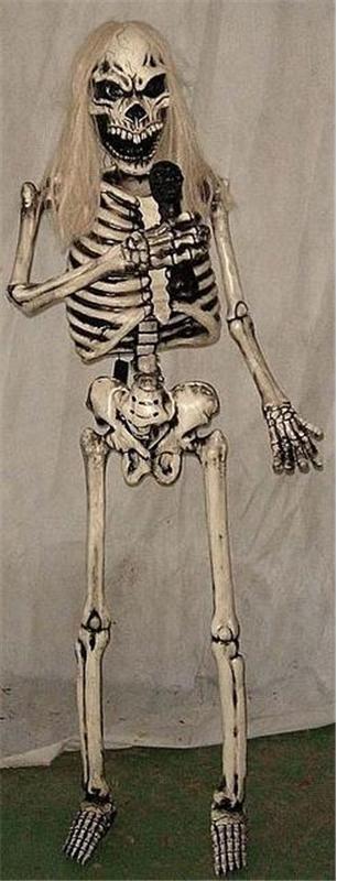 Singing Skeleton Prop