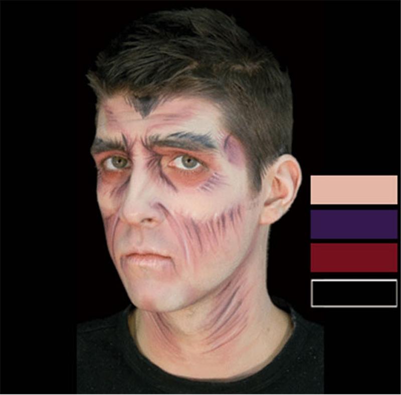Vampire Makeup Stack