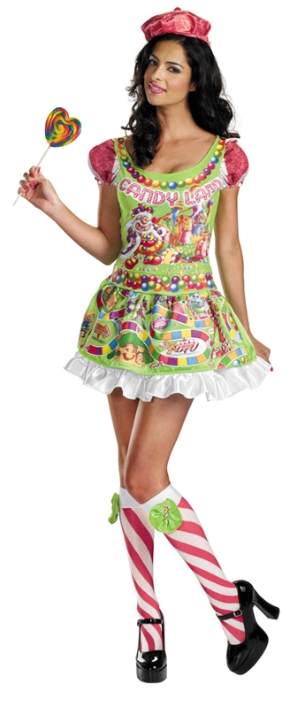 Candyland Deluxe Adult Womens Costume