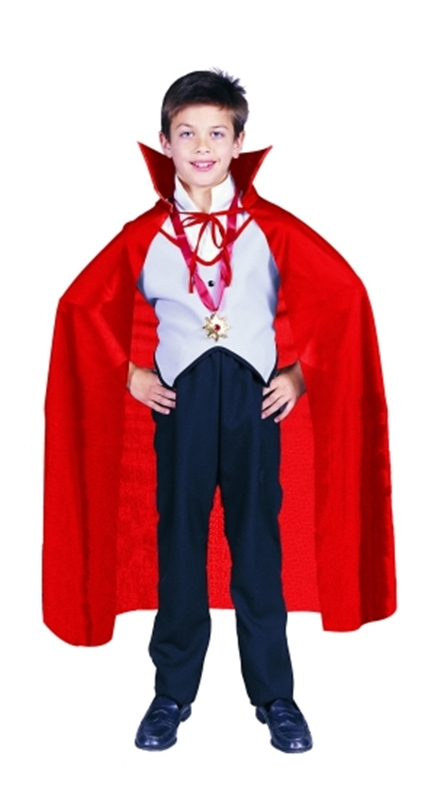 Cape Red Child Costume