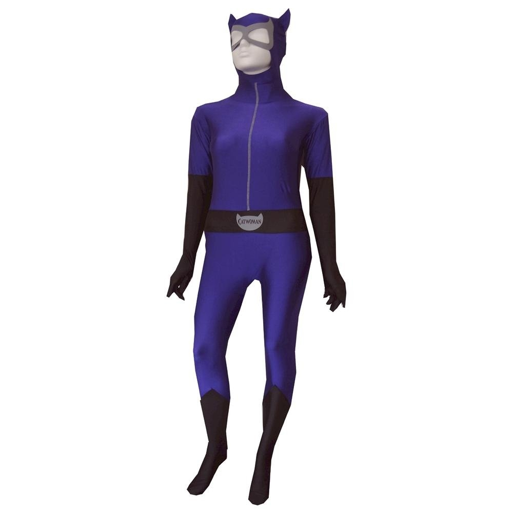 Catwoman Zentai Bodysuit Adult Womens Costume