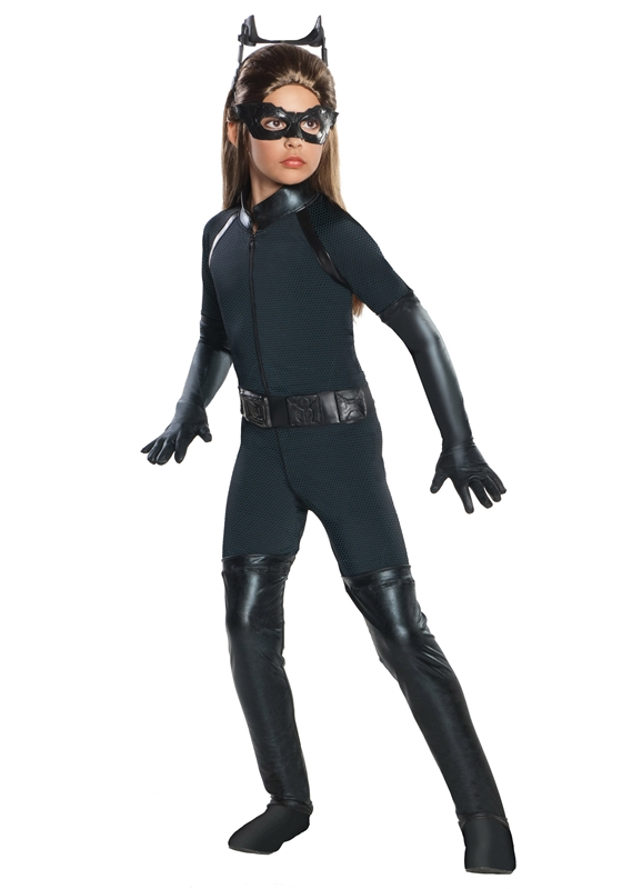 Catwoman Dark Knight Rises Deluxe Child Costume