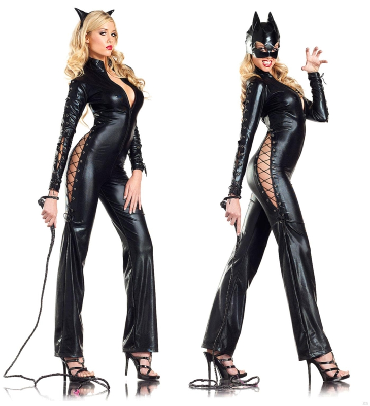 Catwoman Two-Faced Adult Costume by Be Wicked