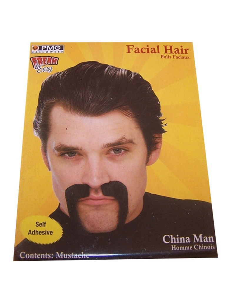 China Man Black Mustache