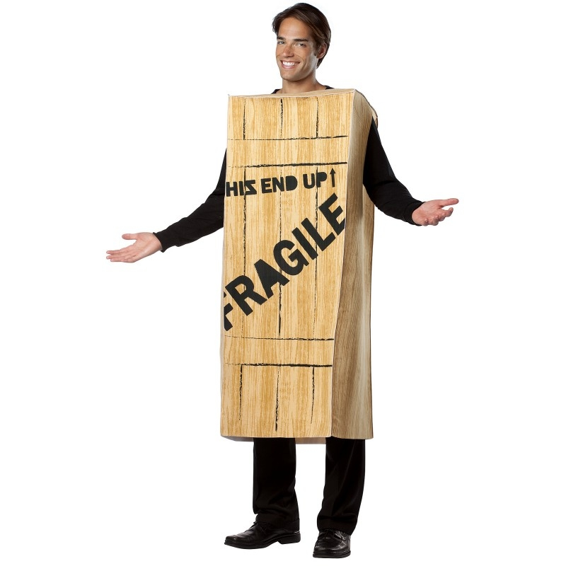 A Christmas Story Fragile Crate Adult Mens Costume