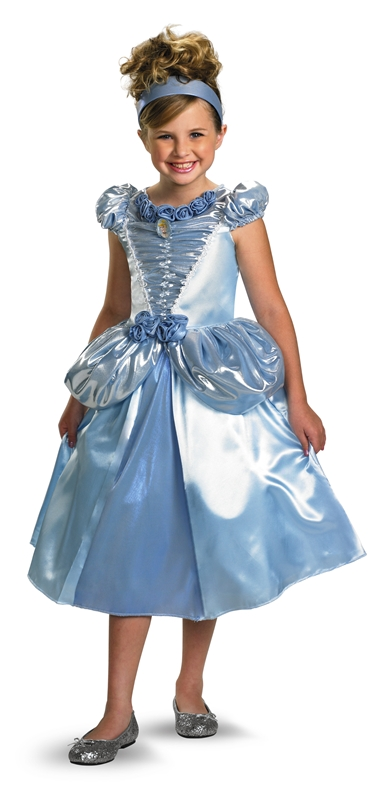 Deluxe Cinderella Child Costume