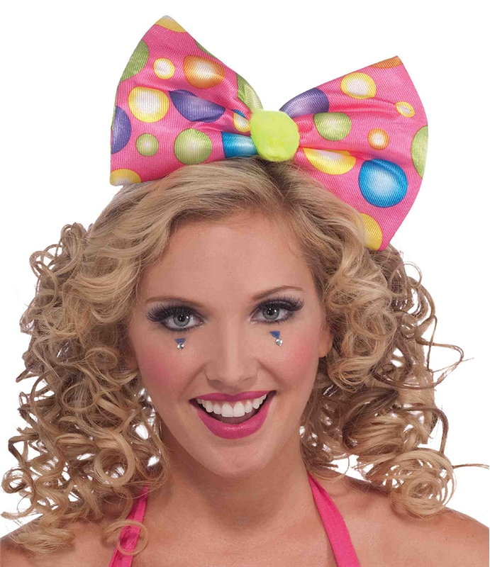 Image of Circus Sweetie Headband Bow